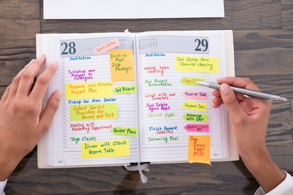 kalendarze i okna czasowe