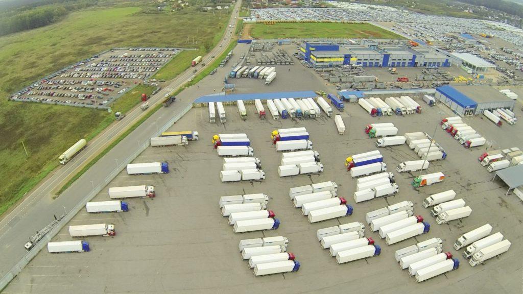 Yard Management System, platforma do awizacji