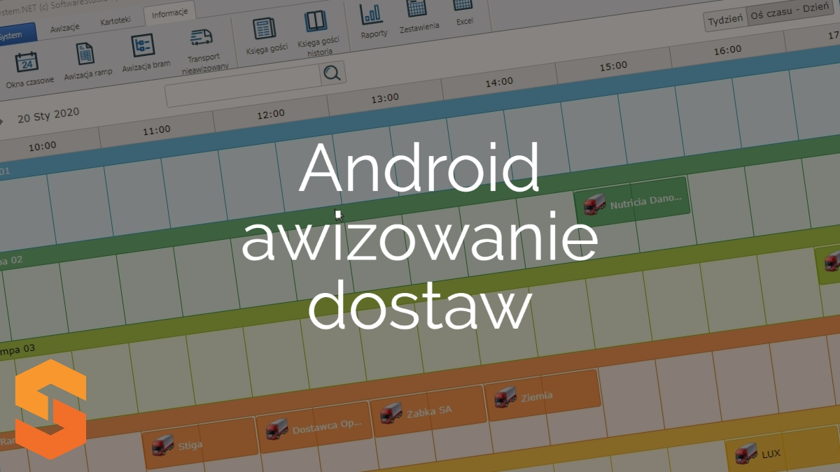 time slot management software,android awizowanie dostaw