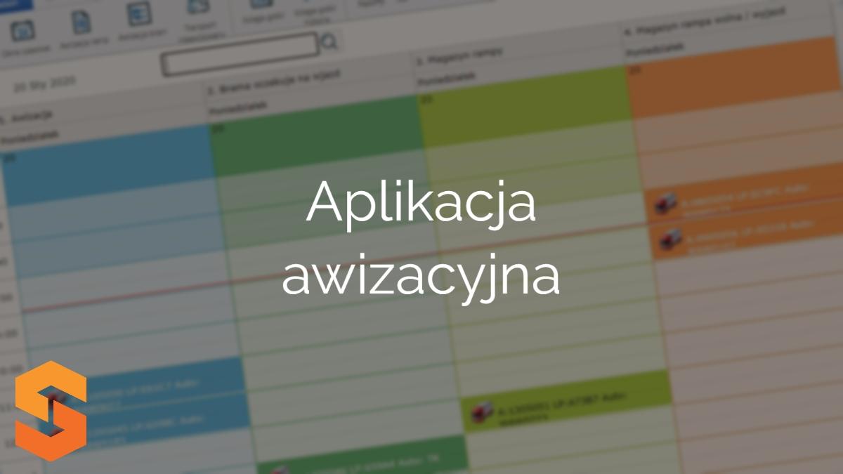 platforma okna czasowe,aplikacja awizacyjna