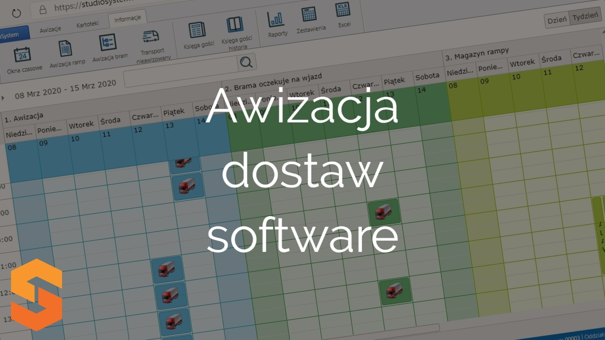 software yms,awizacja dostaw software