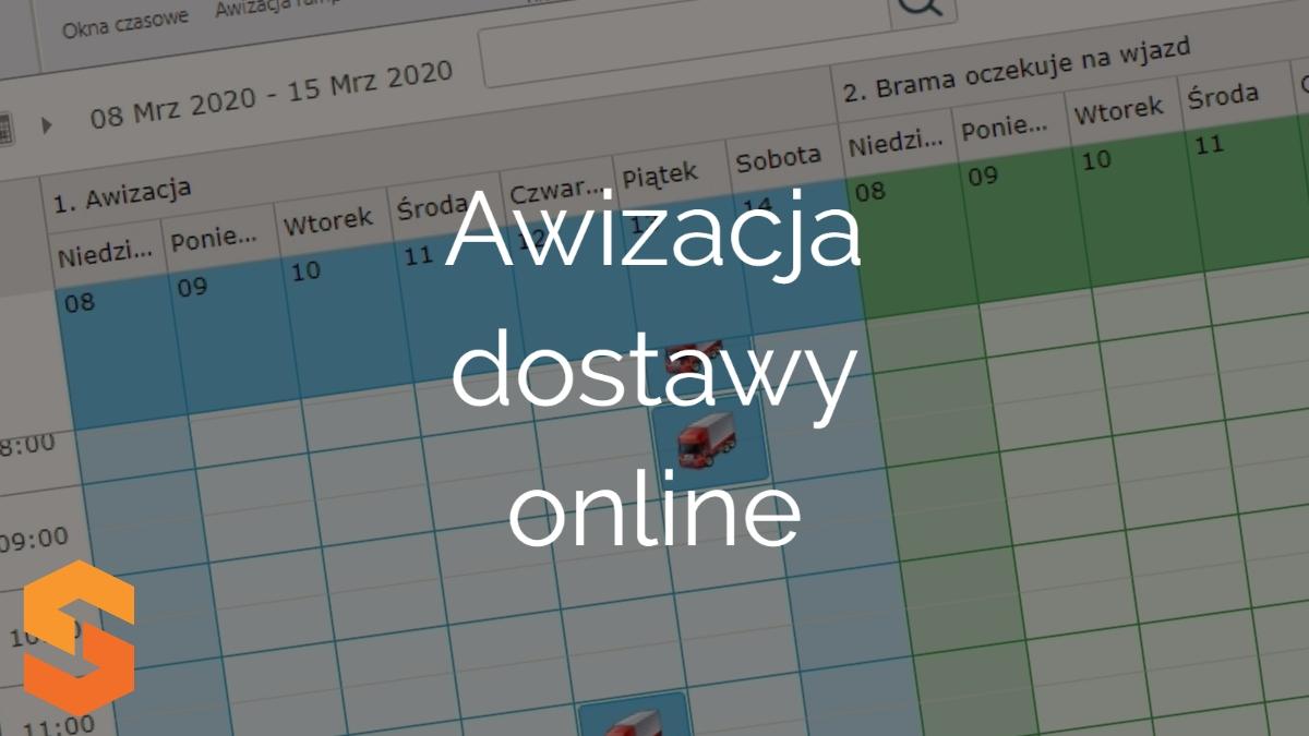 awizacja transportu online,awizacja dostawy online