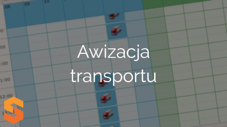 Awizacja transportu
