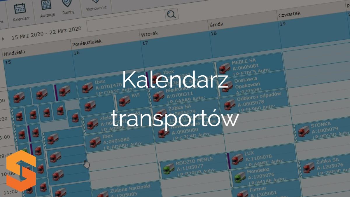 platforma do awizacji,kalendarz transportów