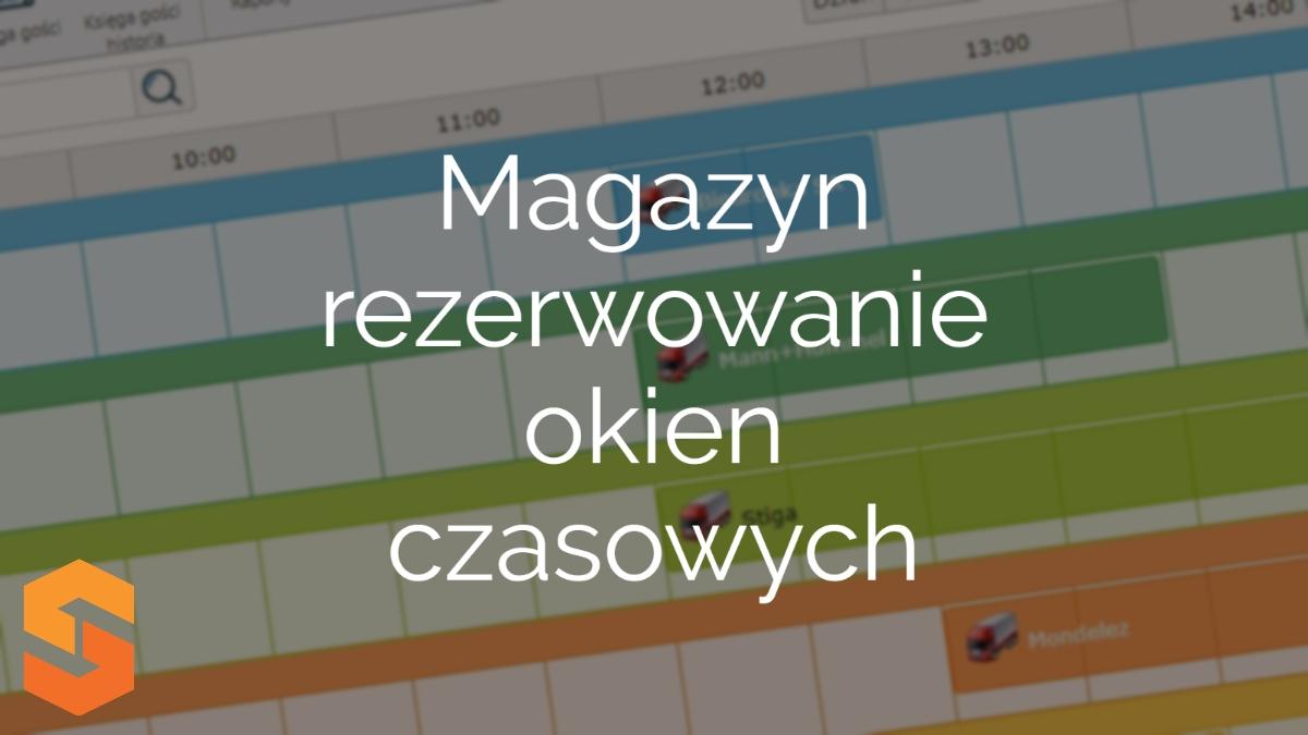 program do awizacji android,magazyn - rezerwowanie okien czasowych