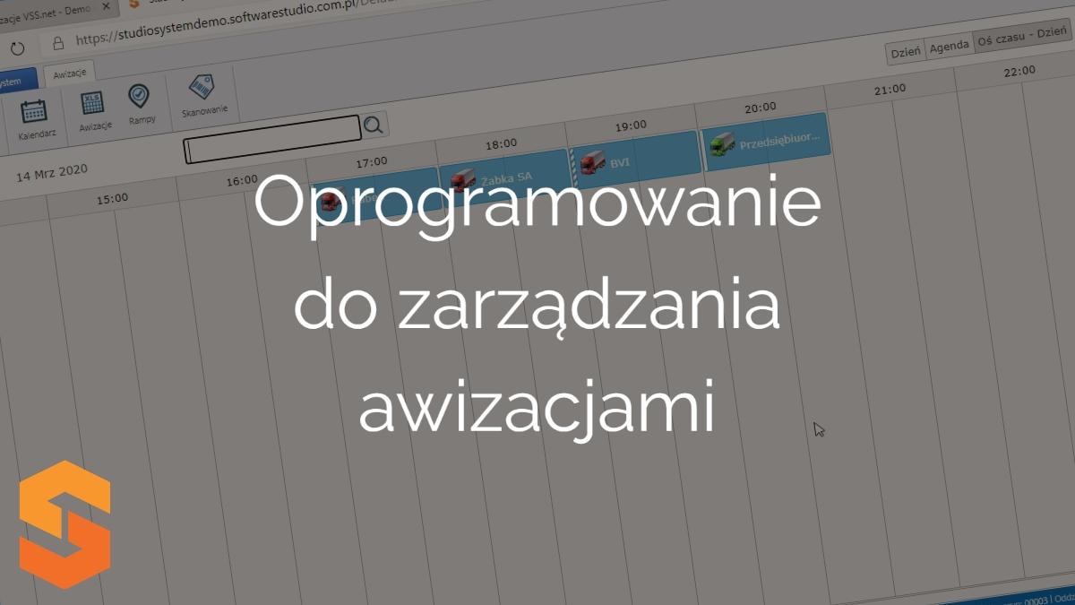 okna czasowe,oprogramowanie do zarządzania awizacjami