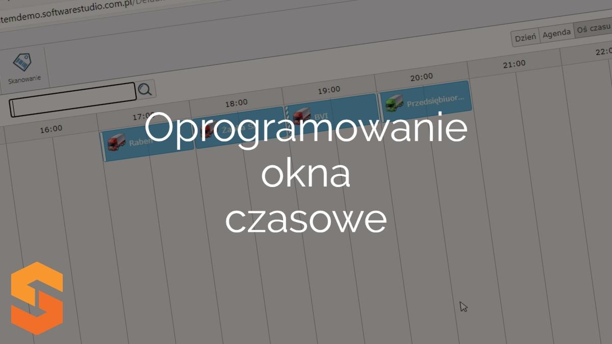 planowanie transportów,oprogramowanie okna czasowe