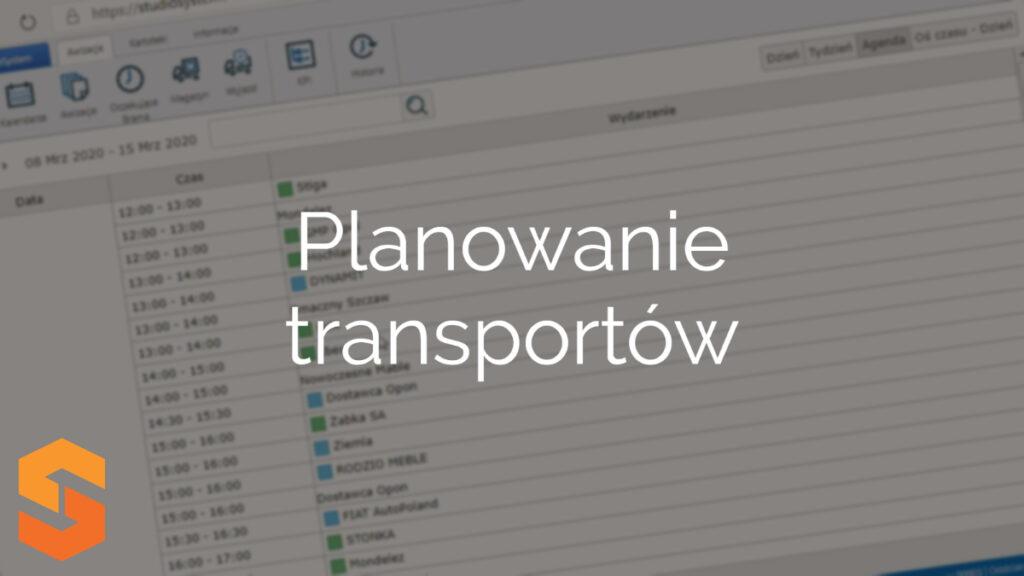 Planowanie transportów