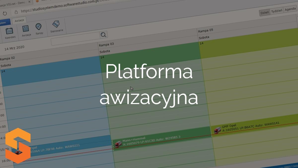 aplikacja yms,platforma awizacyjna
