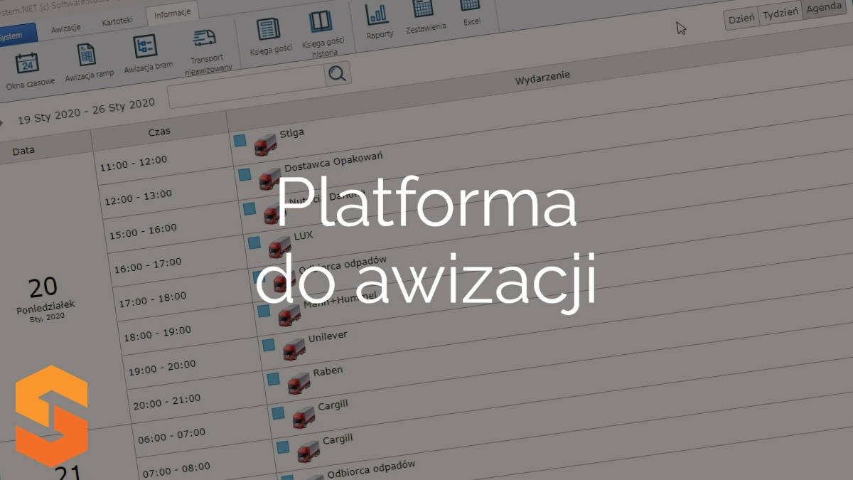 time slot management software,platforma do awizacji