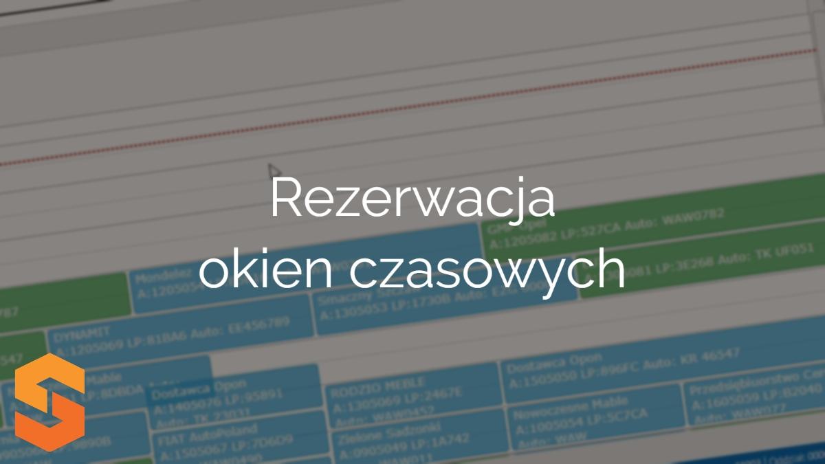 time slot management oprogramowanie,rezerwacja okien czasowych