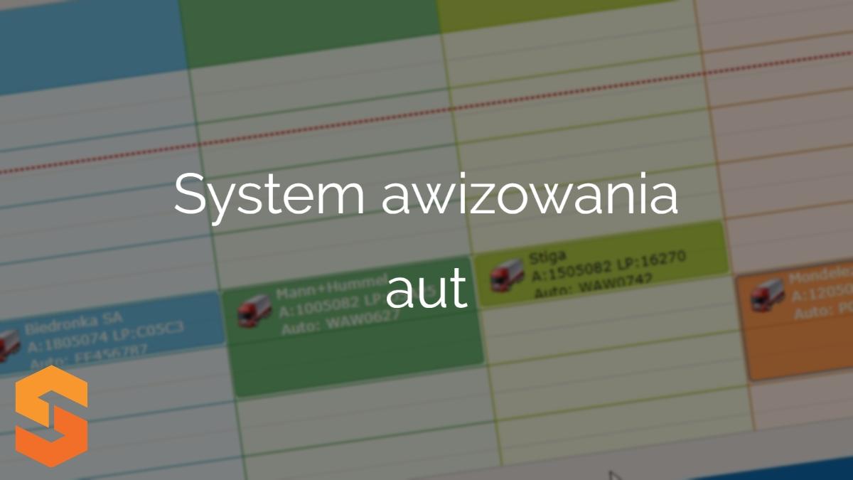 time slot management oprogramowanie,system awizowania aut