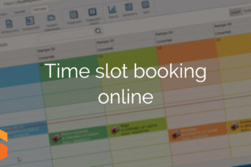 Time slot booking online