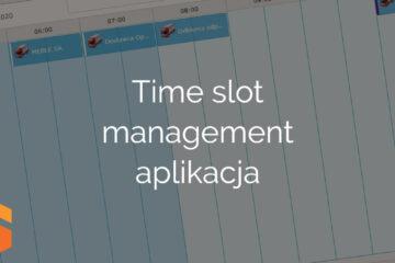 Time slot management aplikacja