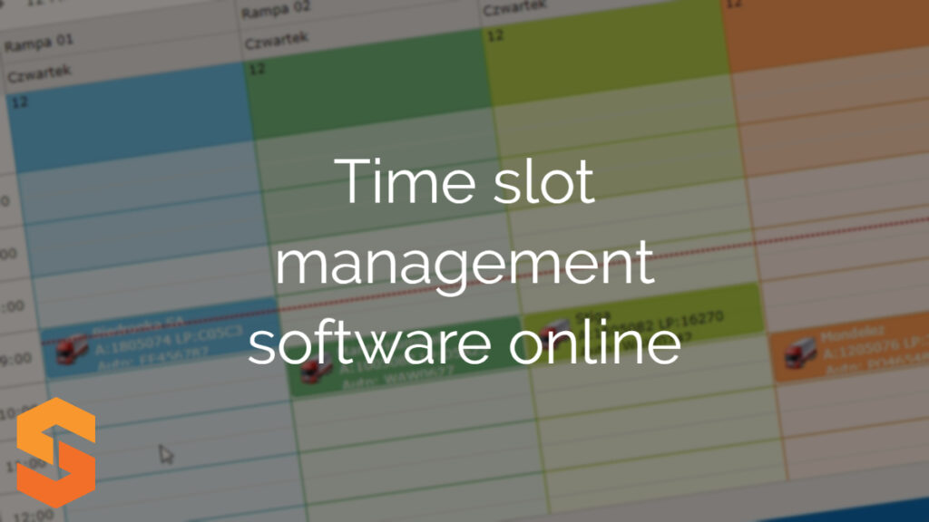 Time slot management software online
