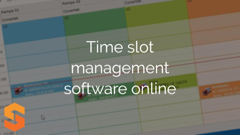Time slot management software online