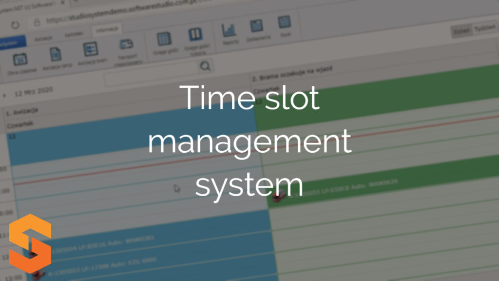 Time slot management system