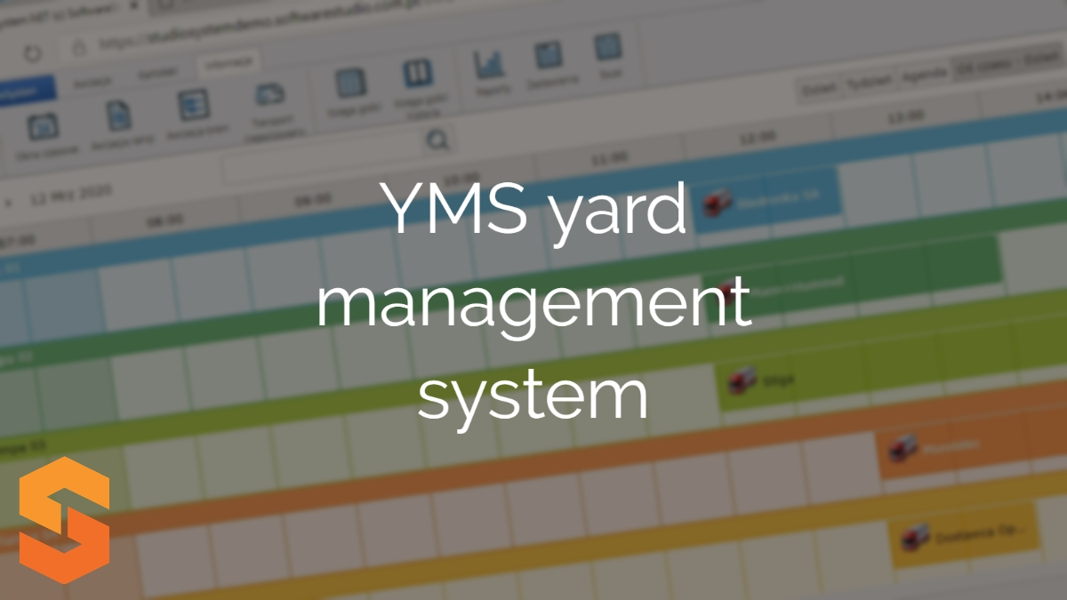 time slot management software,yms yard management system