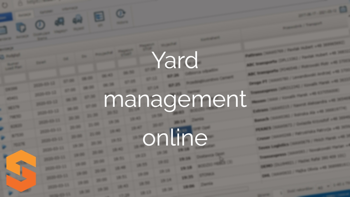 program do awizacji android,yard management online