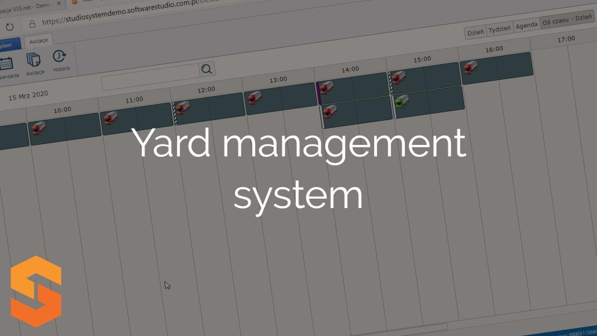 system awizowania pojazdów,yard management system