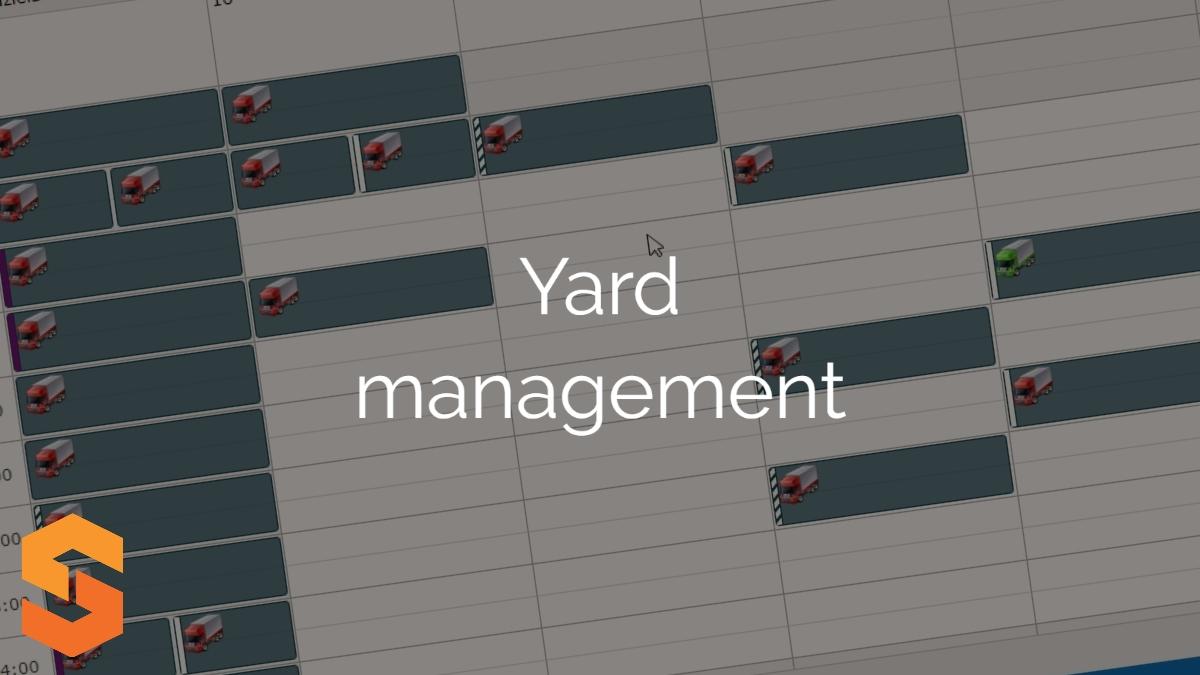 planowanie transportów online,yard management