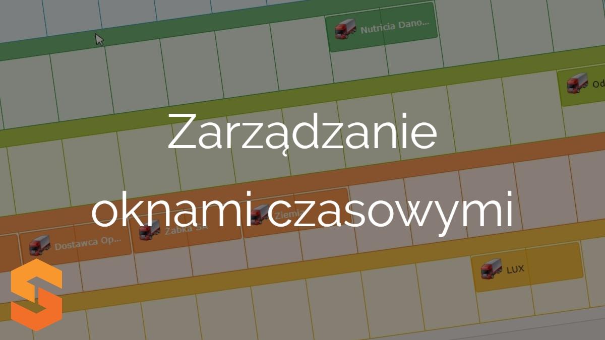planowanie transportów,zarządzanie oknami czasowymi